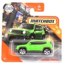 Matchbox fém kisautó 2019 Jeep Renegade zöld 1/100