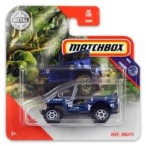 Matchbox fém kisautó 2019 Jeep Willys kék 68/100