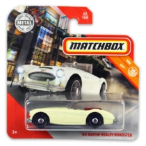 Matchbox fém kisautó 63-as Austin Healy roadster 42/100