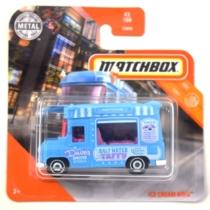 Matchbox fém kisautó Ice Cream King türkiz 43/100