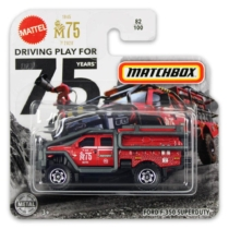 Matchbox fém kisautó International Ford F-350 Superduty piros
