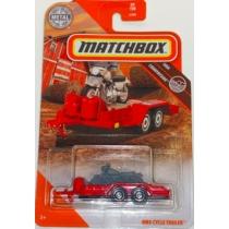 Matchbox fém kisautó MBX Cycle Trailer piros 99/100