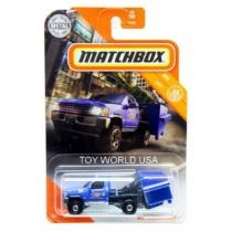 Matchbox fém kisautó MBX Garbage Scout kék 10/100
