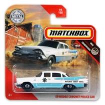 Matchbox fém rendőrautó 59-es Dodge Coronet Police car 94/100