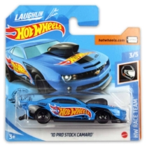 Mattel Hot Wheels fém kisautó '10 Pro Stock Camaro
