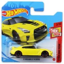 Mattel Hot Wheels fém kisautó '17 Nissan GT-R (R35)