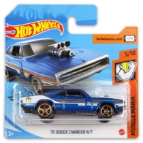 Mattel Hot Wheels fém kisautó '70 Dodge Charger R/T
