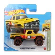 Mattel Hot Wheels fém kisautó '70 Dodge Power Wagon