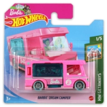 Mattel Hot Wheels fém kisautó Barbie Dream Camper