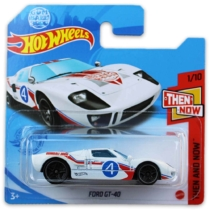 Mattel Hot Wheels fém kisautó Ford GT-40