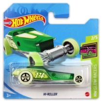 Mattel Hot Wheels fém kisautó Hi-Roller világít a sötétben