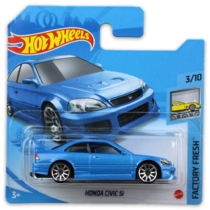 Mattel Hot Wheels fém kisautó Honda Civic Si