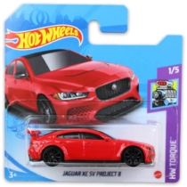 Mattel Hot Wheels fém kisautó Jaguar XE SV Project 8