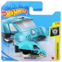 Mattel Hot Wheels fém kisautó See Me Rollin