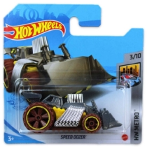 Mattel Hot Wheels fém kisautó Speed Dozer