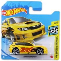 Mattel Hot Wheels fém kisautó Subaru WRX STI