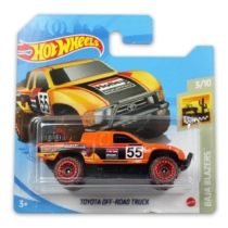 Mattel Hot Wheels fém kisautó Toyota Off-Road Truck