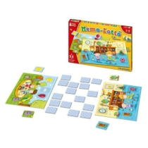 Memória-Lottó készségfejlesztő játék