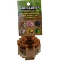 Minecraft műanyag Spawn Egg Idéző Tojás barna