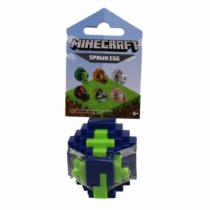 Minecraft műanyag Spawn Egg Idéző Tojás kék