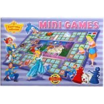 Mini lépegetős társasjáték Hercegnő és a törpék
