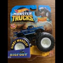 Monster Trucks Bigfoot 45th kisautó műanyag kék Hot Wheels