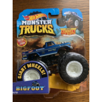 Monster Trucks Bigfoot 45th kisautó műanyag kék Hot Wheels