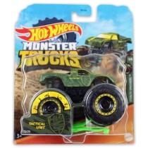 Monster Trucks Tactical Unit kisautó műanyag zöld Hot Wheels