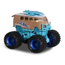 Majorette Monster ruckers VW kisbusz bézs-türkiz