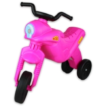 Motor Enduro műanyag Maxi rózsaszín 32 cm