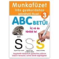 Munkafüzet tollal írás gyakorlása ABC betűi