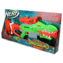 NERF Dinosquad Rex-Rampage szivacslövő fegyver 20 db lövedékkel