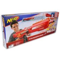 NERF N-Strike Mega Thunderhawk óriás szivacslövő fegyver 10 db tölténnyel