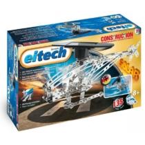 Napelemes helikopter építőjáték 135 db-os szerszámokkal fém Eitech