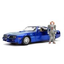 Pennywise & Henry Bower fém autó Pontiac Firebird és fém figura