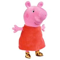 Peppa Malac Plüss piros ruhában hanggal 25 cm