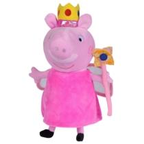 Peppa Pig kosztümös plüss figura hercegnő 30 cm