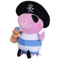 Peppa Pig kosztümös plüss figura kalóz
