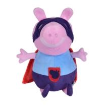 Peppa Pig kosztümös plüss figura szuperhős 25 cm