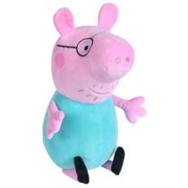 Peppa Pig plüss Papa Wutz zöld 37 cm