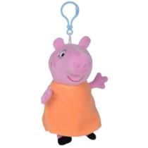 Peppa Pig plüss kulcstartó narancs 13 cm