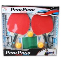 Ping-pong készlet (ütő, labda, háló)
