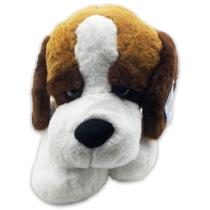 Plüss kutya fekvő 90 cm óriás Berni