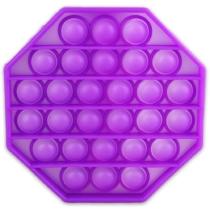 Pop it lila nyolcszög
