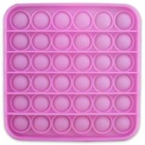 Pop it rózsaszín négyzet