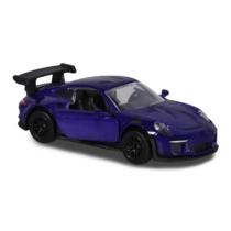 Majorette Porsche Prémium fém kisautó kártyával 911 GT3 RS lila