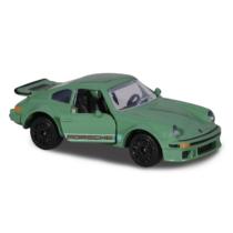 Majorette Porsche Prémium fém kisautó kártyával 934 zöld