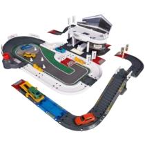 Porsche Élménycenter szett 5 autóval (80 db-os készlet)