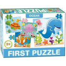 Puzzle Az első formaillesztő kirakóm 4 db-os Óceán