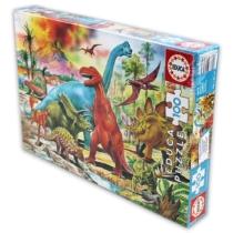 Puzzle Dinoszauruszok 100 db-os Educa